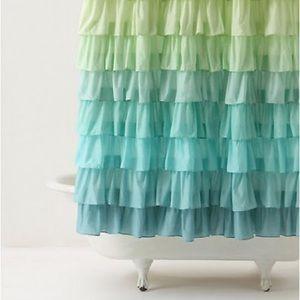 Anthropologie Flamenco Shower Curtain